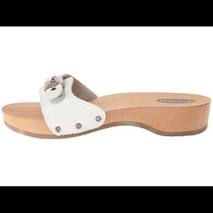Dr. Scholl's Classic White Sandals